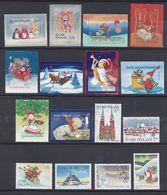 FINLANDE - 1997-2004 - Petit Lot De 16 Timbres Adhésifs Et Non Adhésifs - Neufs XX - TB - - Finland