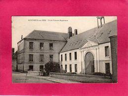 62 Pas De Calais, Montreuil-sur-Mer, Ecole Primaire Supérieure, Université De France, 1923, (Fontaine Segret) - Montreuil