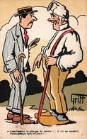 Illustration - Endroit Le Plus Gai - Un Accident D'auto Tous Les Jours - Paysan Humour - Illustrateur Griff - Griff