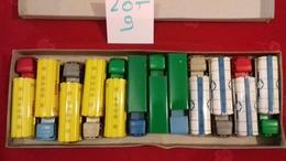 SÉSAME.Boite Rare De 12 Camions BERLIET,MERCEDES,BERNARD..etc..(lot N°9) Sésame Made In France - Jugetes Antiguos