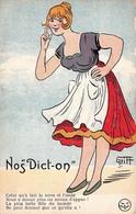 Illustration - Nos Dict On - Plus Belle Fille Du Monde - Humour - Illustrateur Griff - Griff