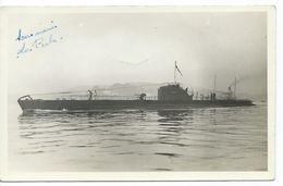 "Carte Photo - Sous Marin  ""Le Perche"" - Submarines"