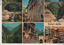 Suisse Saluti Dalla Valle Onsernone Ticino - TI Tessin