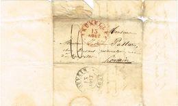 Lettre De Bruxelles Le 13-8-32 Vers Louvain - 1830-1849 (Belgique Indépendante)