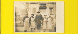 Carte Photo Mannheim Allemagne Hommes Mr Chantecaille - Guerra 1914-18