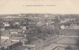 CP  SAINTE MENEHOULD 51 MARNE  VUE GENERALE - Sainte-Menehould