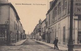 CP  SAINTE MENEHOULD 51 MARNE  RUE CAMILLE MARGAINE - Sainte-Menehould