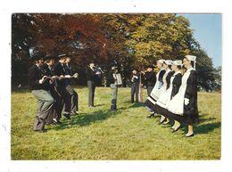 CPSM 44 NANTES Groupe Haut Breton De Nantes Calibourdaine De Breca Hommes & Femmes En Costumes - Danses