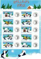 FRANCE Timbres Personnalisés Yvert  Feuillet N° 3853A/3857A** Meilleurs Voeux Logo Cérès - Ungebraucht