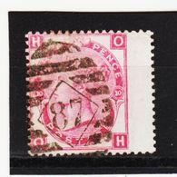 KAR320  Großbritanien 1873  Michl 41 BREITRAND Used / Gesrempelt Siehe ABBILDUNG - 1840-1901 (Victoria)