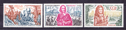 N° 1655 à 1657 Histoire De France:Richelieu, Louis XIV, Bataille De Fontenoy: Timbres Neuf Sans Charnière - Nuevos