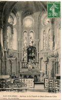 10. Bar Sur Seine. Interieur De La Chapelle Notre Dame Du Chêne - Bar-sur-Seine