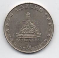 1,50 Euro De Montpellier : 24/3 Au 6/4 1997 : Frappée Par Monnaie De Paris - Euros Of The Cities
