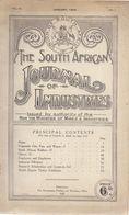Brochure Toerisme Tourisme - South Africa - Journal Of Industries - Pretoria 1920 - Books, Magazines, Comics