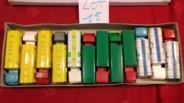 SÉSAME.Boite Rare De 12 Camions BERLIET,MERCEDES,BERNARD..etc..(lot N°15) Sésame Made In France - Toy Memorabilia