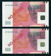 "Test Note ""BDF"" 500 Euros Testnote, MIS CUT By BDF To 200 Euro Note, RRRRR, UNC,  Echantillon, SPECIMEN - Sonstige"