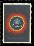German Poster Stamp, Reklamemarke, Cinderella, Cacao Suchard, Velma, Milka, Chocolade, Schokolade. - Ernährung