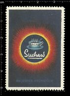 German Poster Stamp, Reklamemarke, Cinderella, Cacao Suchard, Velma, Milka, Chocolade, Schokolade. - Alimentation