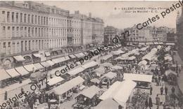 CPA - Nord - Valenciennes - Place D'armes Jour De Marché - Animée - Valenciennes
