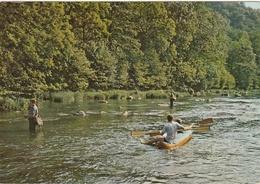 België : Les Ardennes Pittoresques - Weekend Sport , Visvangst. - Belgique