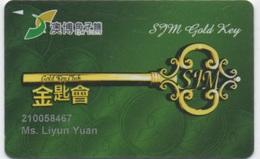 Carte De Membre Casino : Macau Macao SJM Gold Key Club - Cartes De Casino