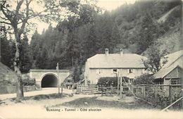 - Vosges -ref-A493- Bussang - Tunnel - Cote Alsacien - Carte Bon Etat - - Col De Bussang