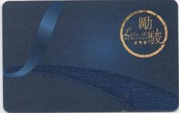 Carte De Membre Casino : Macau Macao Legend Rewards - Cartes De Casino