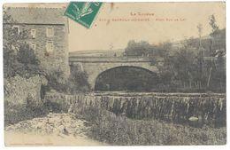 Cpa Bagnols Les Bains - Pont Sur Le Lot - Other Municipalities