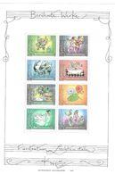 Liechtenstein 2006** KB - Sheet Of 8 - Mi. 1416 - 1423 ** Berühmte Werke. Musik, Postfrisch ( 6 - Liechtenstein