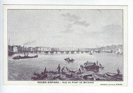 CPA Rouen Disparu Vue Du Pont De Bateaux Girieud - Féroé (Iles)