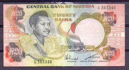 Nigeria  20 Naira  ND - Other - Africa