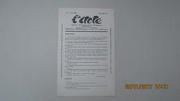 L'ACTE / N° 4 - AVRIL 1928 / BI-MENSUEL / DIRECTEUR JEAN REANDE - Theater
