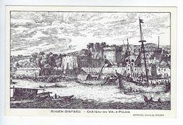 CPA Rouen Disparu Château Du Vieux Palais Girieud - Féroé (Iles)