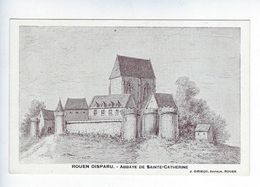 CPA Rouen Disparu Abbaye De Sainte Catherine Girieud - Féroé (Iles)