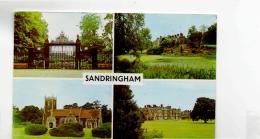 Postcard - Sandringham 4 Views - Card No.plc13907 - Posted 23rd July 1968 Very Good - Postcards