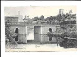 ATH  ( M 3708 )  Pont De Chemin De Fer Et Vue Sur Le Tour De St.Julien - Ath