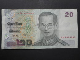Thailand 20 Baht 2003 - Tailandia