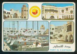 Túnez. Port El Kantaoui. Ed. Kahia Nº 817. Escrita. - Túnez