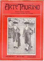 Tijdschrift Magazine Revista - Arte Taurino 1912 - Stierengevecht - Toreador - Matador José Gomez - José Garate - [1] Jusqu' à 1980