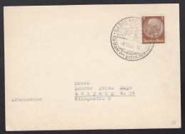 DR Postkarte Sonderstempel 1934 Babenhausen Nach Leipzig K1404 - Deutschland
