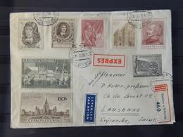 Tchécoslovaquie Lettres De Radnice  à Destination De Lausanne - Tschechoslowakei/CSSR