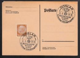 DR Postkarte Sonderstempel 1938 Goslar Ungelaufen K1518 - Poststempel - Freistempel