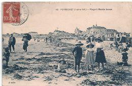 Cpa 44  Pornichet Plage à Marée Basse - Pornichet