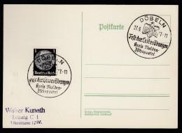 DR Postkarte Sonderstempel 1937 Döbeln Ungelaufen K1550 - Poststempel - Freistempel