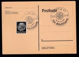DR Postkarte Sonderstempel 1939 Braunau Ungelaufen K1558 - Poststempel - Freistempel