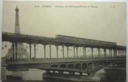 VIADUC DU MÉTROPOLITAIN Á PASSY - PARIS - Bridges
