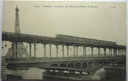 VIADUC DU MÉTROPOLITAIN Á PASSY - PARIS - Brücken