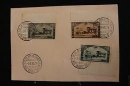 Tu-31 / Marcophilie (Lettres) - Enveloppe,  Carte Postale Salon International Du Timbre 1935 - Maximum Cards