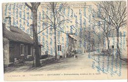 Cpa Villefort - Environs - Prévenchères, Avenue De La Gare - France
