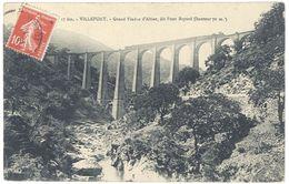 Cpa Villefort - Grand Viaduc D'Altier, Dit Pont Bayard - Villefort